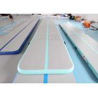 China Custom Size 3m, 4m, 5m, 6m, 8m,10m Airtrack Inflatable Gym Mat Air Track Gymnastics factory