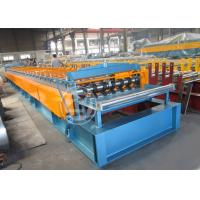 Buy cheap Lifetime Service Metal Floor Deck Roll Forming Machine with ISO 9001 from Wholesalers