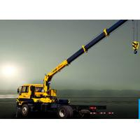 China Truck Mounted 6300kg articulated lorry mounted crane 40 L / min factory
