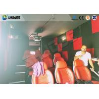 China Motion Seat In XD Theatre With Cinema Simulator System / Special Effect Machine factory