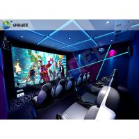 China 12 Seats Flight Simulator 12D XD Cinema factory