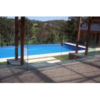 Buy cheap Nice tempered glass pool fence panels/safety fence for pool from Wholesalers