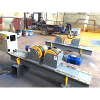 Buy cheap Small 5000 kg Pipe Welding Rotator 380V pipe turning rolls With Foot Pedal from wholesalers