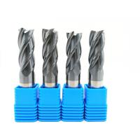 Buy cheap 2-12 mm Solid Carbide End Mills 2 / 3 / 4 / 6 Flutes Milling Cutter CNC Tool from Wholesalers