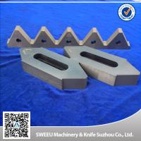 Buy cheap Cr12Mov Material Plastic Granulator Blades For Copper Cables High Toughness from Wholesalers