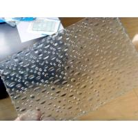 China Waterproof Mirror Rolled Flat Float Glass With Patterned , 3mm - 8mm factory