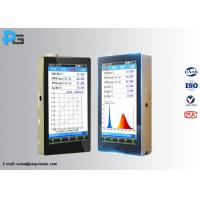 Buy cheap Plant Light Analyzer Led Testing Equipment 350- 800nm With LCD Touch Screen from Wholesalers