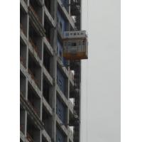 Buy cheap Q345B Steel Material Construction Passenger Hoist , SC200/SC200 Goods Hoist Lift from Wholesalers