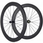 Buy cheap Custom Logo 23mm Carbon Fiber Clincher Wheelset , 60mm Carbon Racing Bike Wheels from Wholesalers