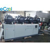 Buy cheap Low Noise PLC Refrigeration Screw Compressor Unit 840HP High Temperature cold storage from Wholesalers