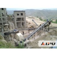 China Basalt Complete Rock Jaw Crusher Plant for Limestone / Marble / Granite on sale