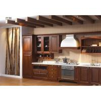 China Modern High End Kitchen Cabinets MDF / Plywood / Solid Wood Door And Drawer Material on sale