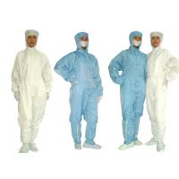 Buy cheap Laundering Durability Clean Room Garments Dust proof ESD Anti Static Coverall from Wholesalers
