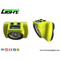 Buy cheap GLC-6S Mining Hard Hat Led Lights 6800mA 25000lux Waterproof For Underground Industry from Wholesalers