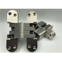 Buy cheap High Hardness Heavy Duty Invisible Hinge With Satin Nickel Surface from Wholesalers