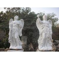 China Garden Deco Life size Four angel marble statues,china marble sculpture supplier factory
