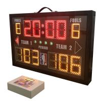Buy cheap Light Aluminum Frame Portable Electronic Scoreboard 860mm * 550mm * 100mm from wholesalers