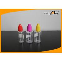 Buy cheap Empty Clear E-cig Liquid Bottles Recycling Plastic Liquid Containers 20ml 30ml from Wholesalers