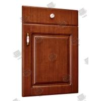Quality Anti Deformation Masonite Molded Panel Doors / Brown Wood Composite Doors for sale