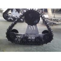 China High Running Speed Auto Track System 800mm Length With Low Ground Pressure factory