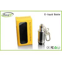 China Eco Friendly 5ml E Cig Accessories Stainless Liquid Bottle With Chrome Color factory
