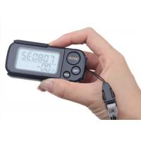 Multi - Function 3D Smart Pedometer With Clip Strap 30 Days Memory High Accurate
