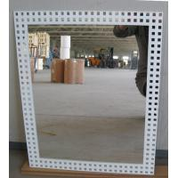 China 3mm 6mm Clear Silver Processed Mirror Glass Wall Mounted , Silkscreen Printed factory