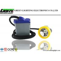 Buy cheap CREE Chips LED Miners Cap Lamp 15000lux Adopt 6.6Ah Rechargeable Lithium Battery from Wholesalers
