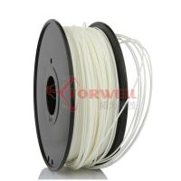 China Polystyrene White Makerbot Filament 3D Printing , 1.75mm HIPS Filament factory
