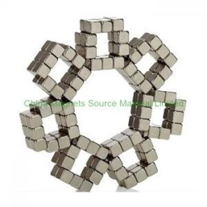 "China 0.157"" (4mm) cube N50 ndfeb magnet factory"
