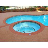 China Environment Friendly Rubber Flooring Around Swimming Pool Heat Resistance factory