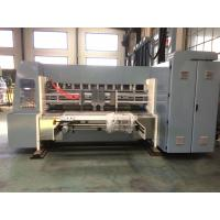 Buy cheap Industrial Corrugated Cardboard Production Line Flexo Printing And Die Cutting Machine from Wholesalers