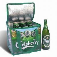 China Ice Cooler Bag, Made of Printed PE Woven Cloth factory
