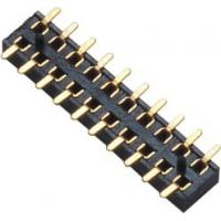 Buy cheap 2.00mm Female Header Connector Double Row SMT PA9T Black  Board to Wire connection from Wholesalers