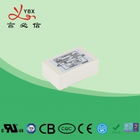 China Yanbixin 6.5A White Plastic Housing EMI Power Line Filter YB16P4 With Small PCB factory