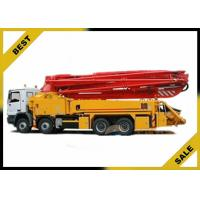Buy cheap Mounted Dry Cement Boom Pump Manufacturer 37m Mini 247kw 29000kg from wholesalers