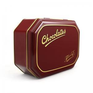 China Custom Chocolate Metal Tins Wholesale Company factory