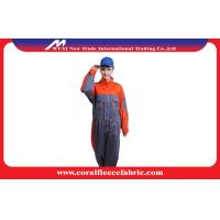 China Polyester High Visibility Flame Retardant Workwear FRC / FR Clothing for Fireman Costume factory