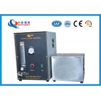 China Micro Controlled Flame Test Equipment 820*820*1500 MM With Observation Window factory