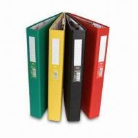 China Ring Binder with Gold Stamp, Available in Different Colors, OEM/ODM Orders are Welcome factory