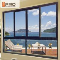 China Sound And Thermal Insulation Aluminium Horizontal Sliding Window  Easy To Install on sale