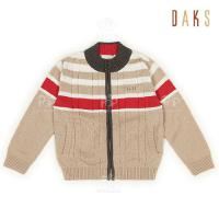 Buy cheap Winter Warm 100% cotton Knitted Girls Sweaters / 2 - 8Y Unisex Baby Knitted Cardigans from Wholesalers