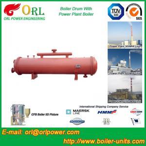 Low Pressure Boiler Mud Drum CFB Boiler Spare Part ASTM Certification