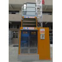 Buy cheap Vertical Transportation Building Site Hoist Internal Cage Size 3.2L * 1.5W * 2.35H Meter from Wholesalers