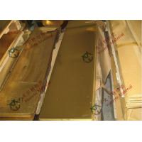Buy cheap C11000 C1011 C10200 Copper Alloy Sheet from wholesalers