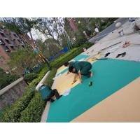 China Fragmented Rubber Playground Material , Epdm Rubber Play Chippings factory