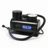 China Air Compressor with 12V Rated Voltage, 10A Rated Current factory