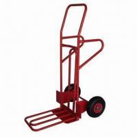 China Hand Trolley with Pb-free and UV-resistant Powder Coating factory