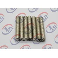 China Full Thread Screw Metal Machined Parts Lathe Turning 303 Stainless Steel for sale