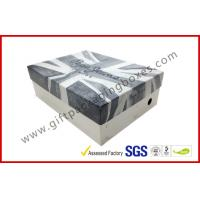 Customized Grey Board Lid and Base Apparel Gift Boxes for Dressing , Wedding Favour Packing Boxes